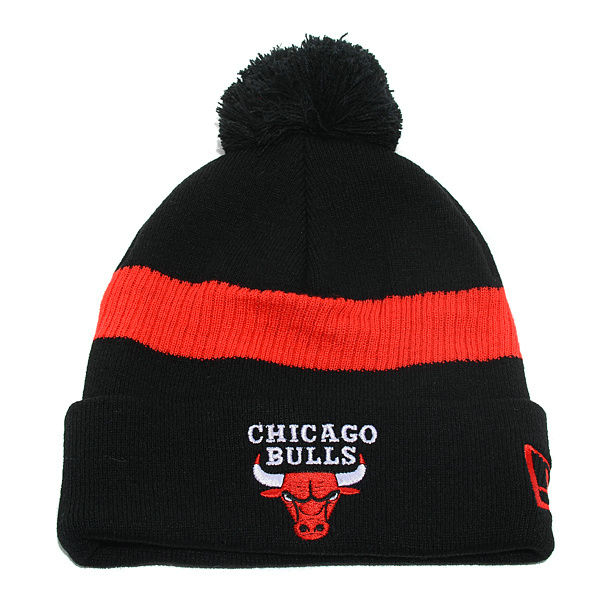 NBA Chicago Bulls Black Beanie SD
